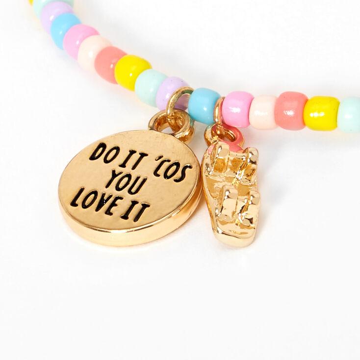 Sky Brown™ Seashell Bracelets – Rainbow, 3 pack,