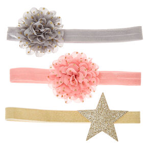 Claire's Club Floral Headwraps - 3 Pack,