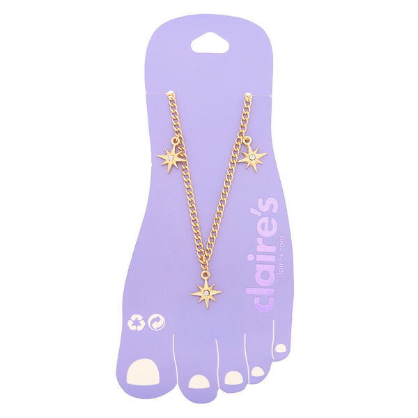 Claire's - starburst anklet - 1