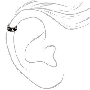 Silver Celestial Ear Cuff,