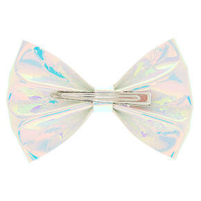 Holographic Mini Hair Bow Claw,
