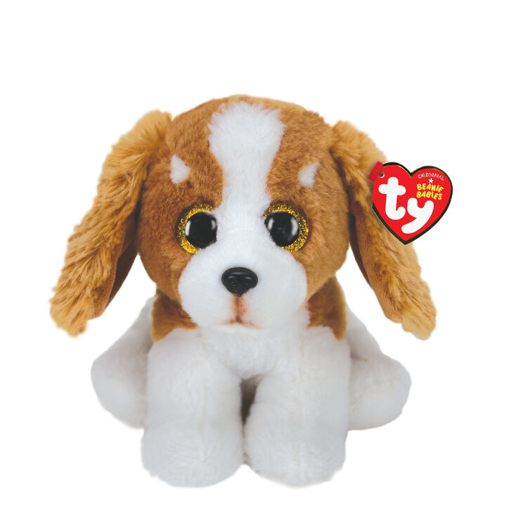 Ty Beanie Baby Small Barker the Dog Soft Toy,