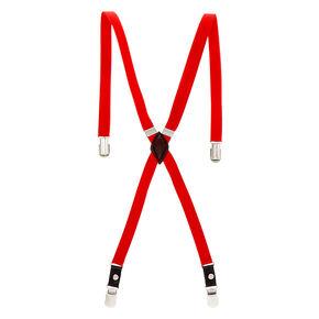 Skinny Braces - Red,