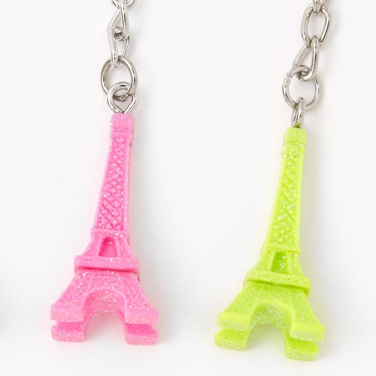Eiffel Tower Best Friends Keychains - 5 Pack,