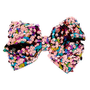 0dd5f16958c JoJo Siwa™ Large Pink Reverse Sequin Hair Bow