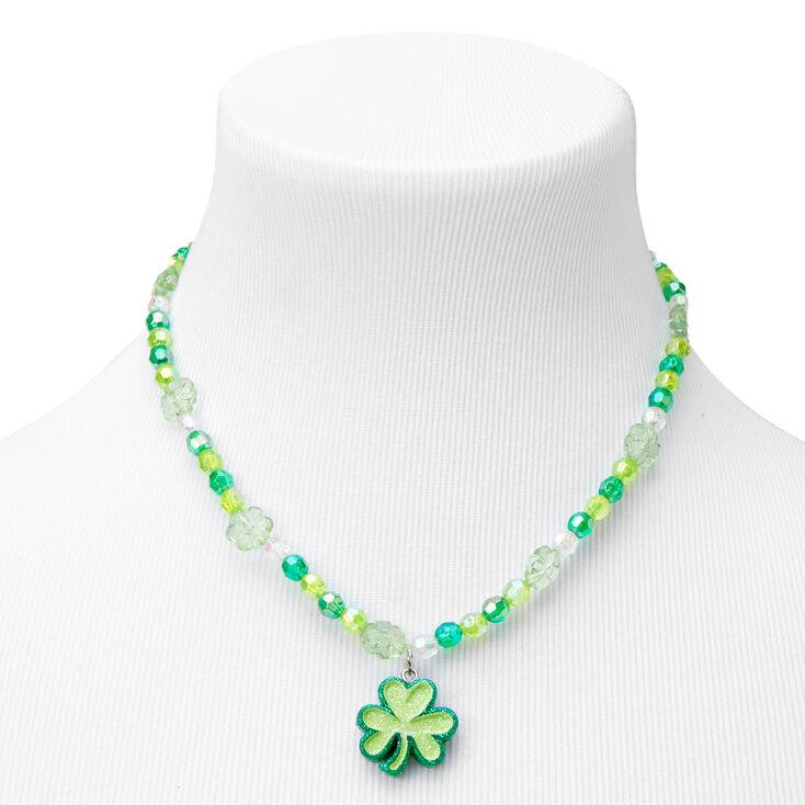 Parure de bijoux perlés fête de la Saint-Patrick - Lot de 2,