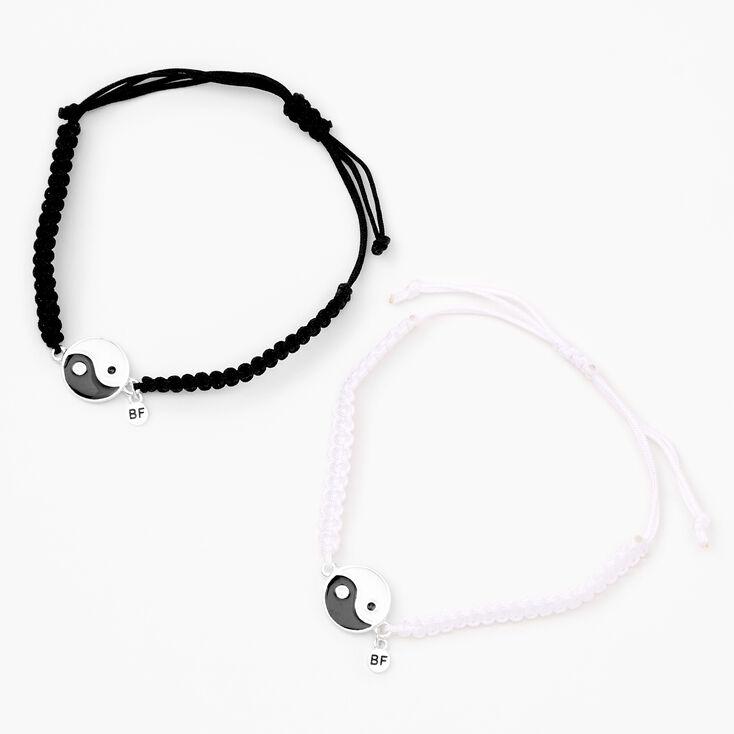Best Friends Yin-Yang Bracelets - 2 Pack,
