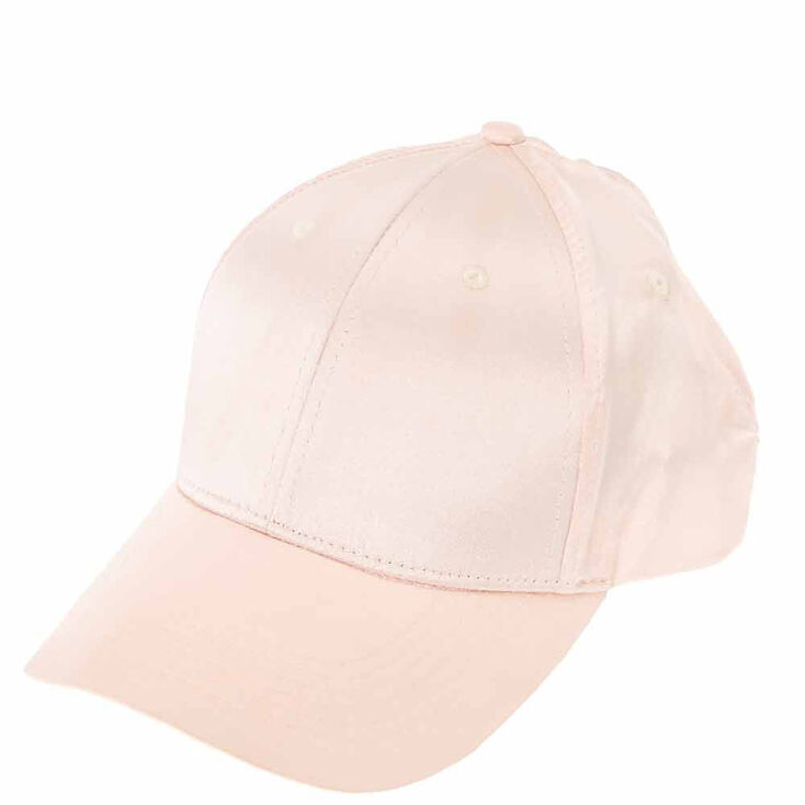 edd148597b7 Satin Baseball Cap - Pink
