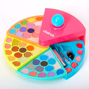 Neon Cake Slice Makeup Set,