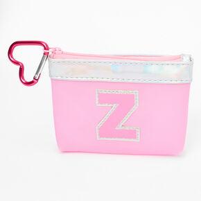 Porte-monnaie à initiale rose - Z,