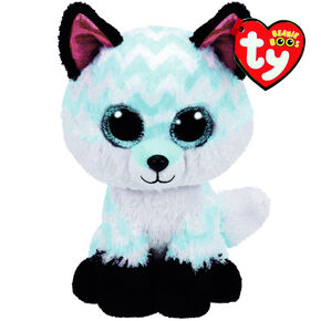 f2da416b9af Ty Beanie Boo Large Piper the Chevron Fox Soft Toy