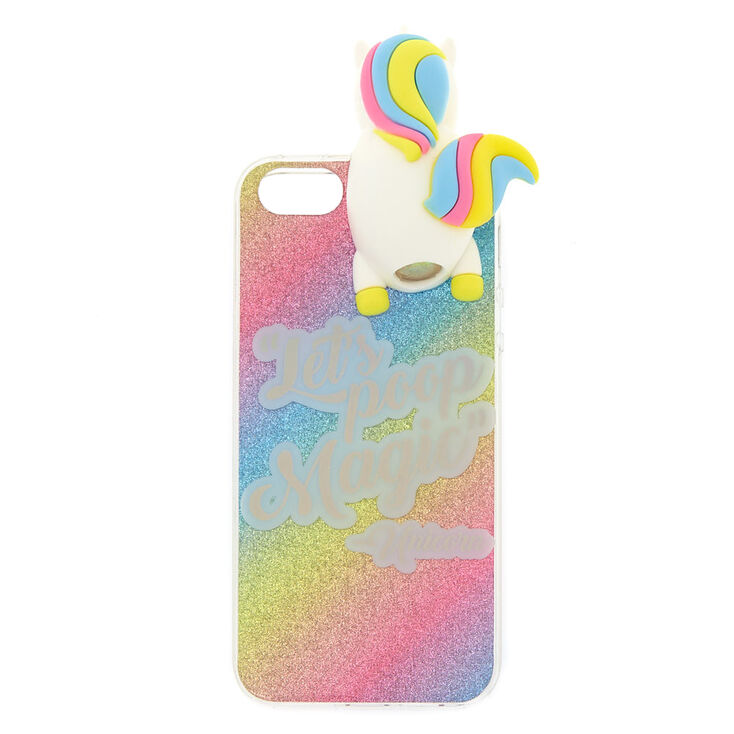 differently 02cb1 8e26e Let's Poop Magic Popover Unicorn Phone Case - Fits iPhone 5/5S/5SE