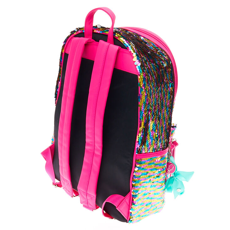 JoJo Siwa™ Reversible Sequin Medium Backpack,