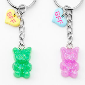 Gummy Bear Best Friends Keychains - 5 Pack,