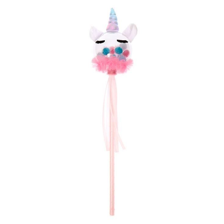 Claire's Club Unicorn Shakey Wand - Pink,