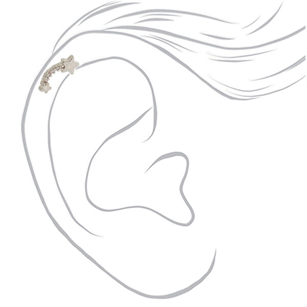 Claire's - 16g meteor shower cartilage earring - 2