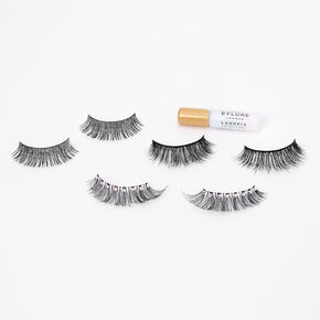 Eylure Radiant Gems False Eyelashes - 3 Pair Pack,