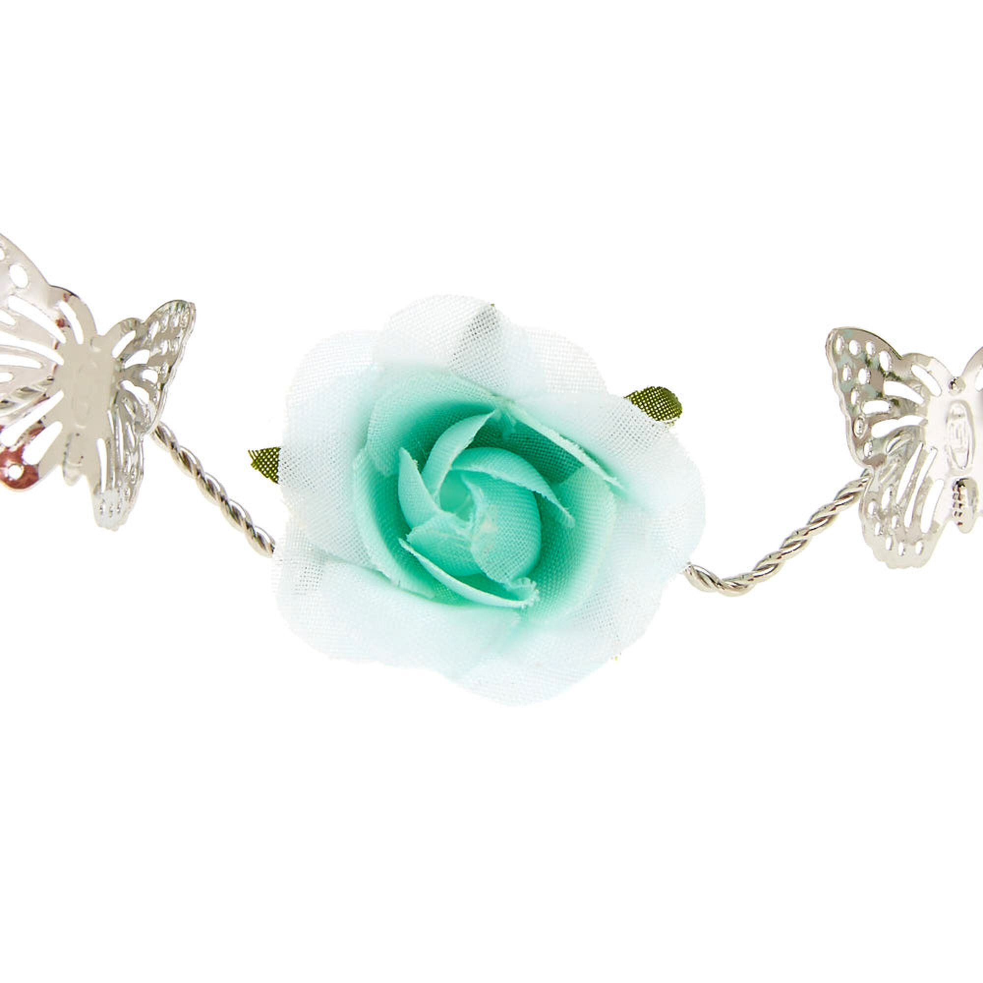 Mint flower silver flower crown claires mint flower silver flower crown izmirmasajfo