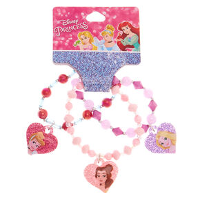 ©Disney Princess Charm Stretch Bracelets- Pink, 3 pack,