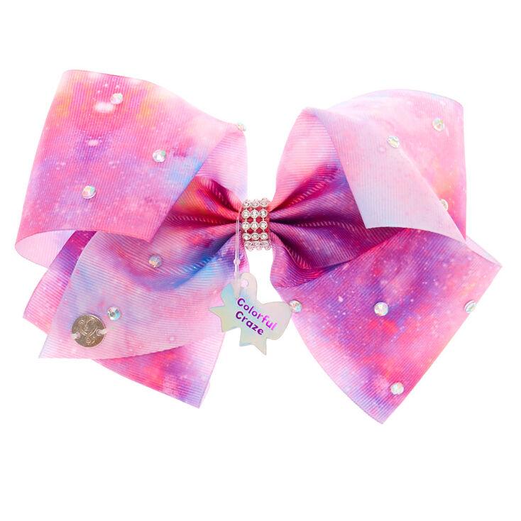 JoJo Siwa™ Colourful Craze Hair Bow – Pink,