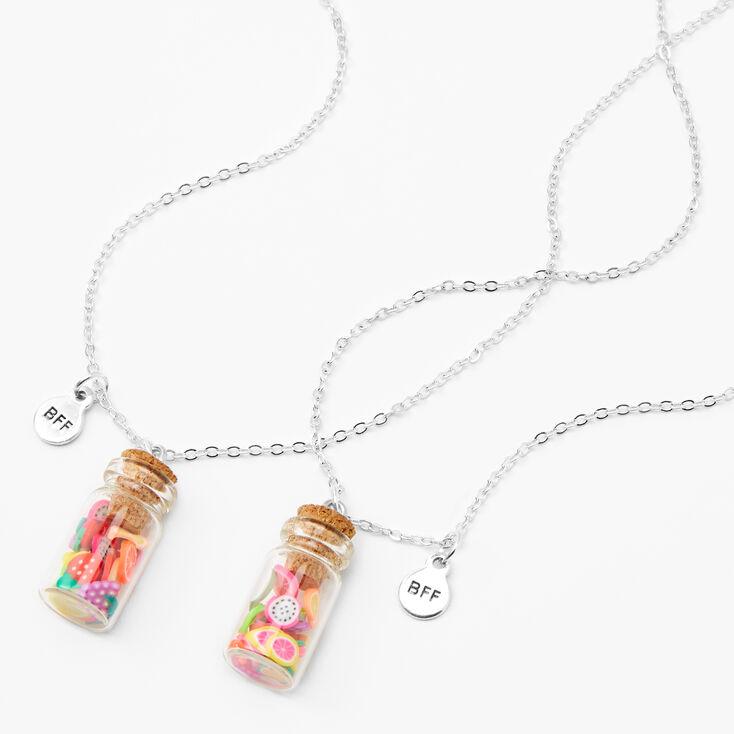Best Friends Fruit Jar Necklaces - 2 Pack,