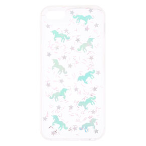 Holographic Unicorn Clear Phone Case - Fits iPhone 5/5S,