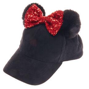 97173ebd5233e1 Disney® Minnie Mouse Baseball Cap - Black