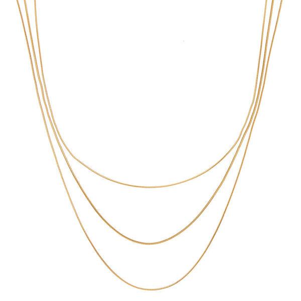 Claire's - multi strand necklace - 1