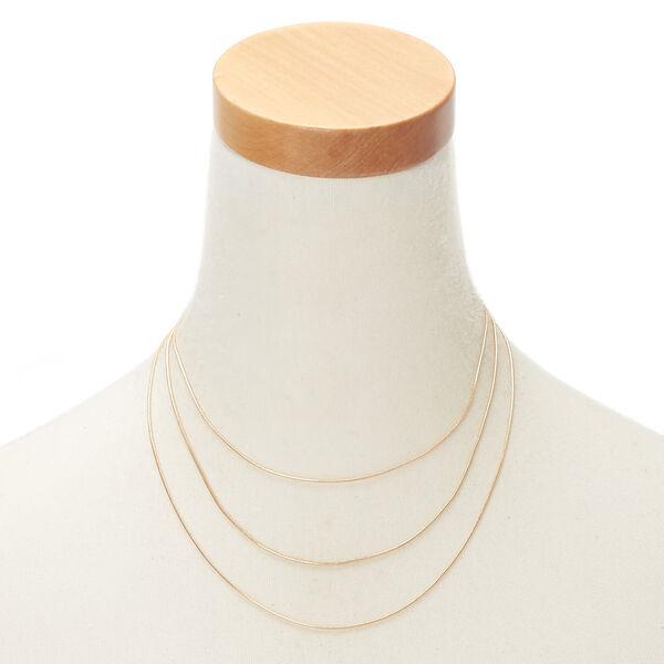 Claire's - multi strand necklace - 2
