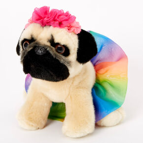 Doug the Pug™ Medium Festival Tutu Plush Toy,