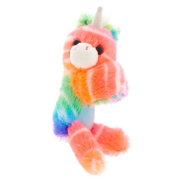 Claire's - clublovable huggable unicorn soft toy slap bracelet - 1