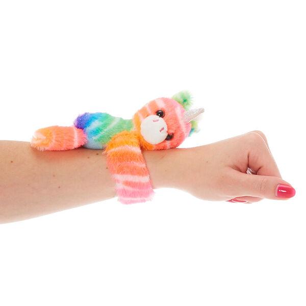 Claire's - clublovable huggable unicorn soft toy slap bracelet - 2