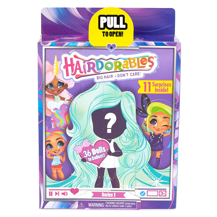 Hairdorables Series 1 Doll Figure Blind Pack Claire S Us