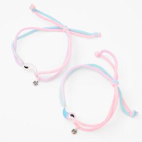 Best Friends Glow in the Dark Yin Yang Bracelets - 2 Pack,