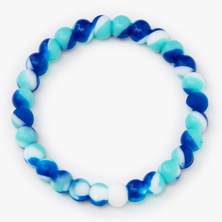 Bliss Fortune Stretch Bracelet - Blue,