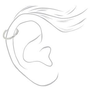 Sterling Silver 10MM Cartilage Hoop Earring,