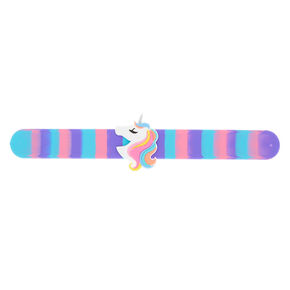 Miss Glitter The Unicorn Slap Bracelet,