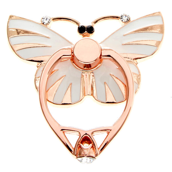 Claire's - rose butterfly ring stand - 1