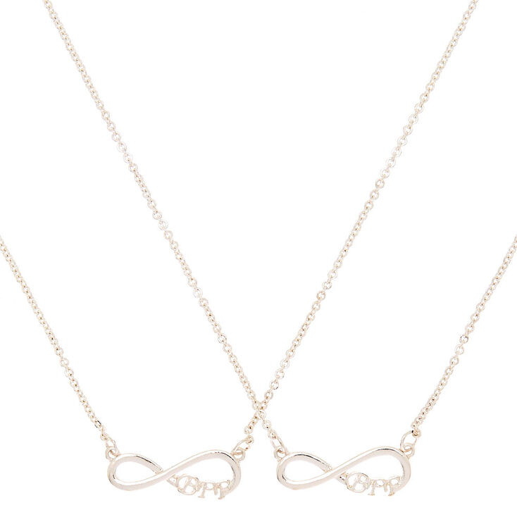 09c051a9cf00f Silver Best Friends Infinity Pendant Necklaces - 2 Pack