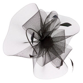 Feather Swirl Fascinator Headband - Black 1ae0f0ccd61