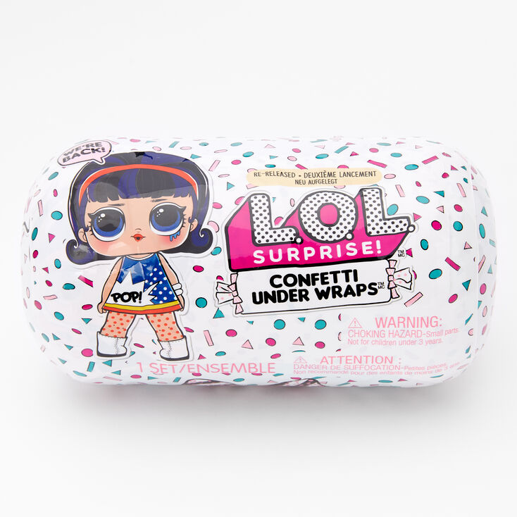 L.O.L. Surprise!™ Confetti Under Wraps Blind Bag - Styles May Vary,