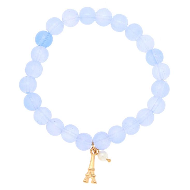 Paris Marble Stretch Bracelet,