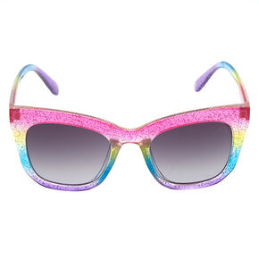 Glitter Rainbow Sunglasses,