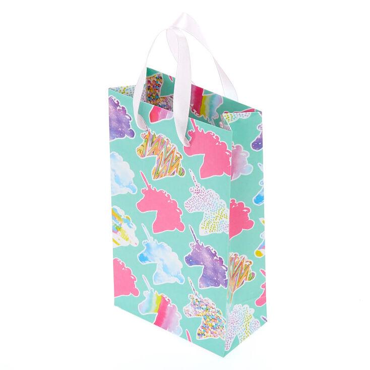 Small Unicorn Print Gift Bag,