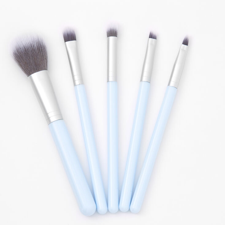 Makeup Brush Set - Light Blue,