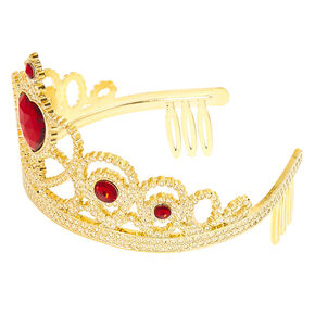 Claire's Club Tiara - Gold,