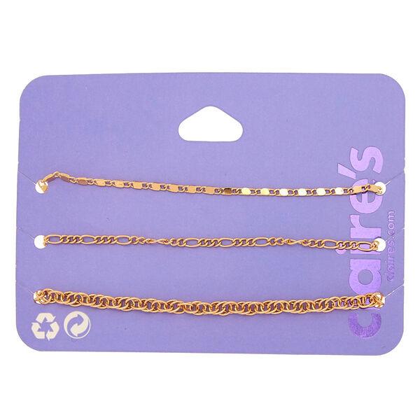 Claire's - chain bracelets - 1