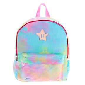 Rainbow Tie Dye Medium Backpack,