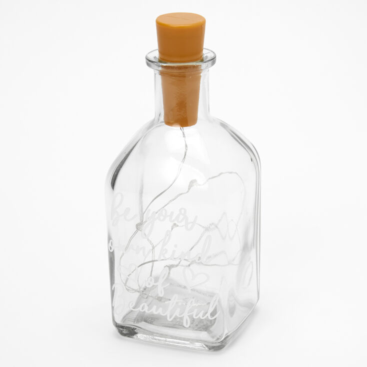 Be Your Own Kind Of Beautiful Tabletop Light Jar,