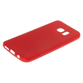 Matte Logo Cut Out Phone Case - Fits Samsung Galaxy S7,